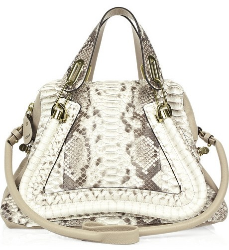 The Chloe Paraty Medium Python Bag Sells for $3,800
