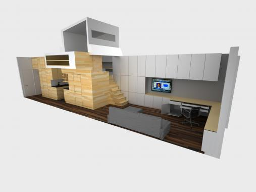 Ingenious Solutions for Small Apartments
