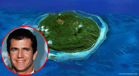 Mel Gibson Island