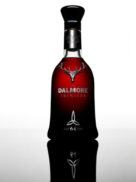Old Exclusive Expensive the Dalmore 64 Trinitas Whiskey