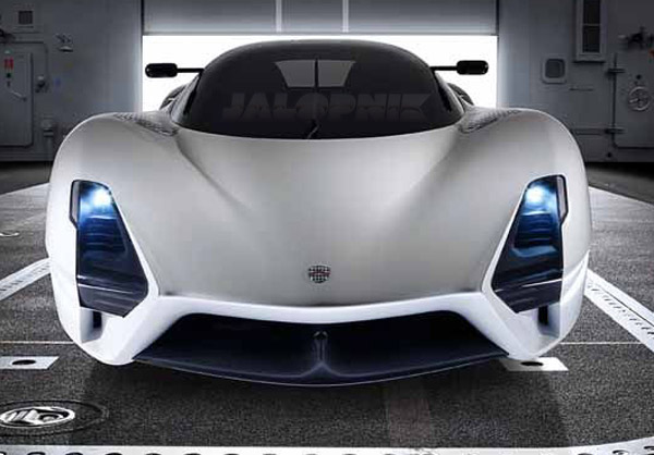 SSC Ultimate Aero II, world's new fastest car