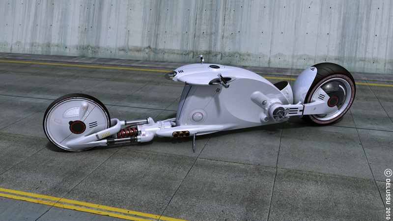 Snake Road A Science-Fiction-Like Motorbike