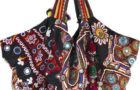 The Colorful Carryall Embroidered Bag by Simone Camille