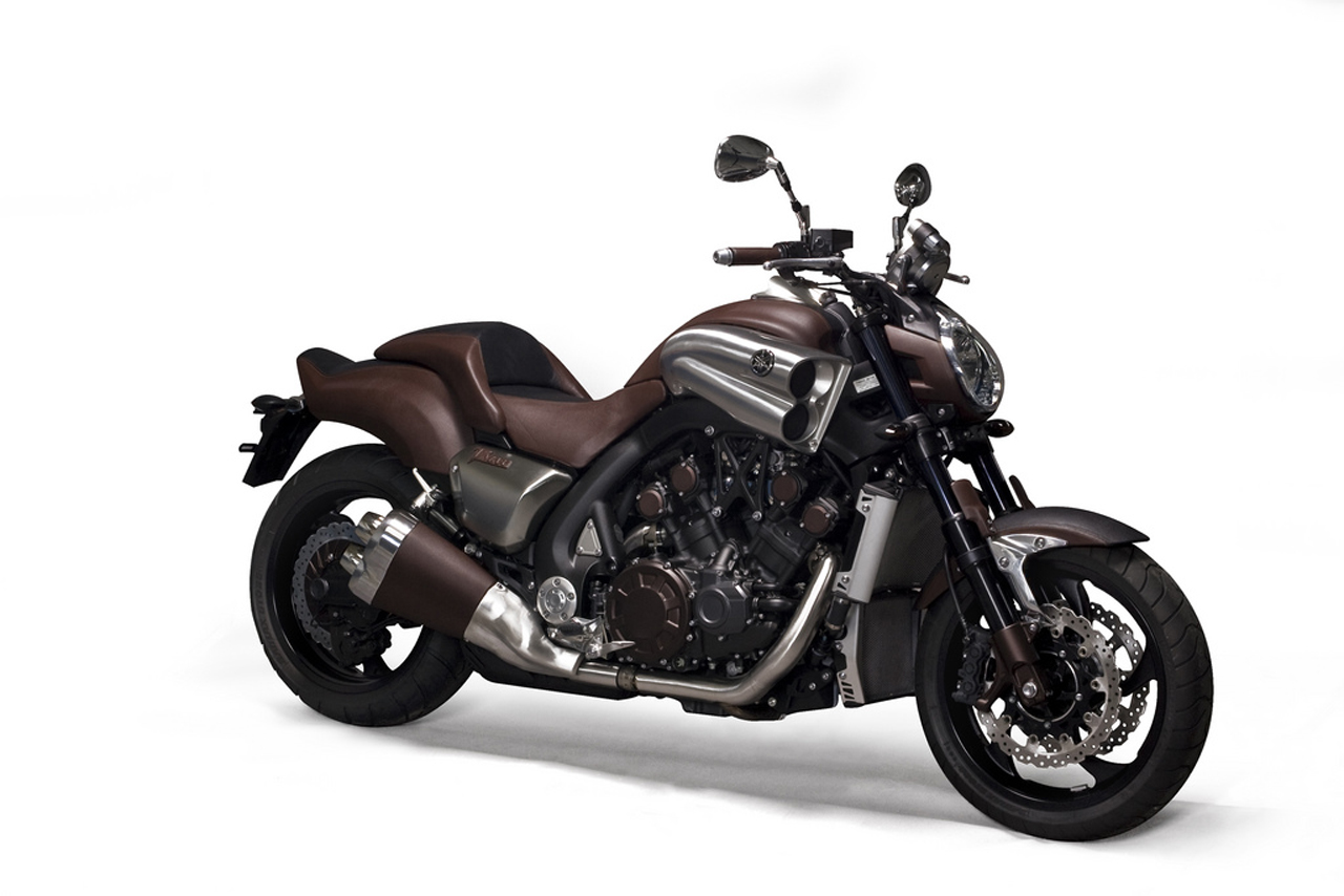 The One-Off Yamaha VMax by Hermes