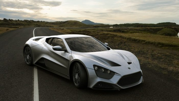 The Zenvo ST1 Supercar and the Dartz Kombat SUV for the U.S.