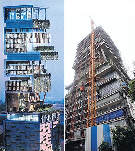 Worlds Most Expensive House Antilia