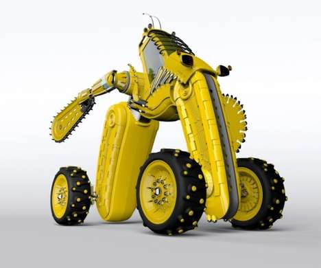 Alien Construction Equipment