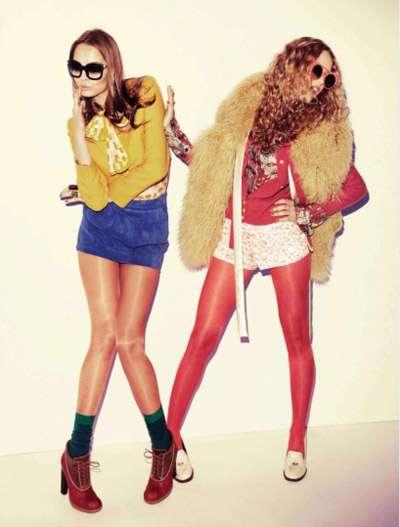 Animalistic Hipster Fashion