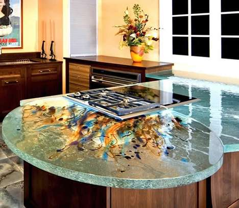 Artistic Glass Kitchens