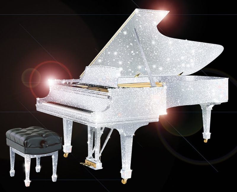 CrystalRoc Swarovski Piano