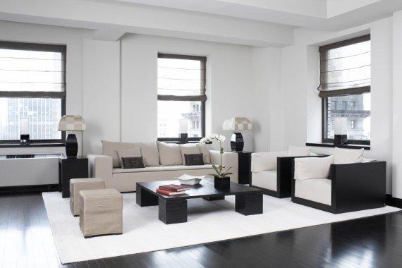 Dark-Light Contrast for Armani Casa Interiors
