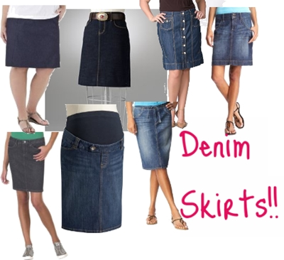 Denim Skirts - Fashionable in 2011
