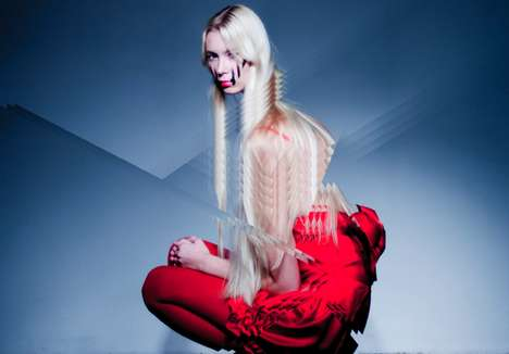 Fractured Fashion Photography