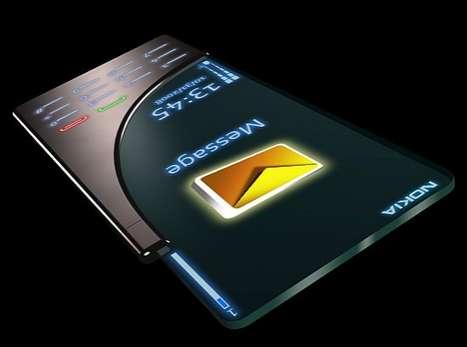 Futuristic Titanium Phones