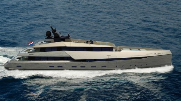 G180 Superyacht by Ghost Yachts and Gloss Design