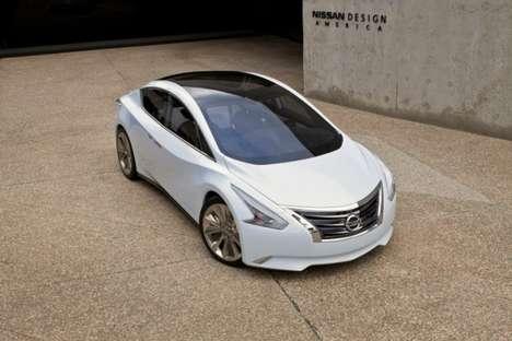 Glass-Roofed Eco Sedans