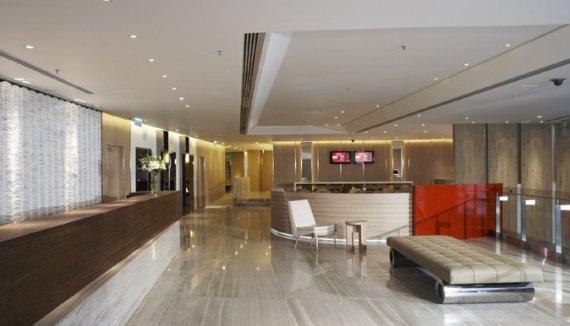 Inspirational Interiors in Jen Hotel, Hong Kong