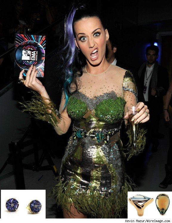 Katy Perrys Disputed Look at the MTV European Music Awards