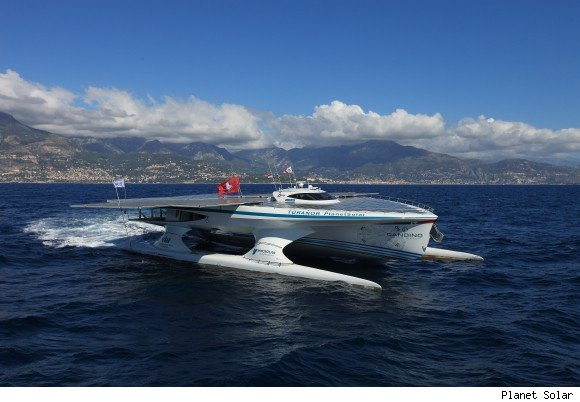 Largest Solar Boat Turanor PlanetSolar