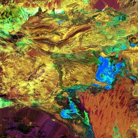 Stunning Satellite Art