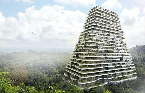 Sustainable Prism Apartments