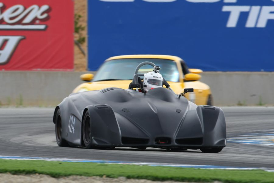 The Light and Fast Palatov Motorsport dp4 Go-Kart
