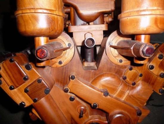 Wooden Ferrari 365 Engine for Sale