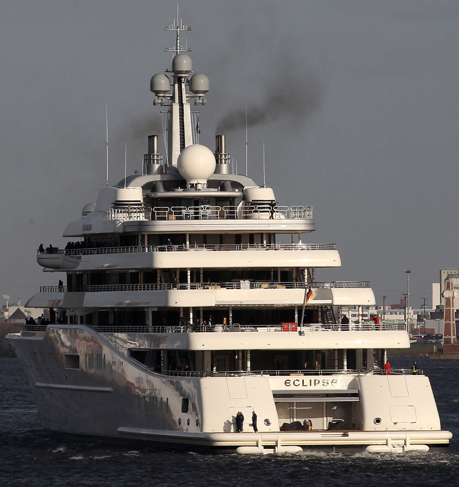 Roman Abramovich Eclipse Mega-Yacht