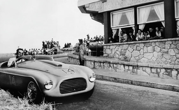 1949 Ferrari 166 M Touring Barchetta 12