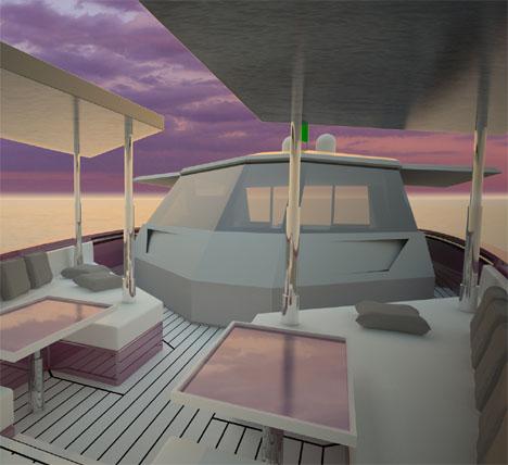 ALTAIR 70 Hybrid Yacht