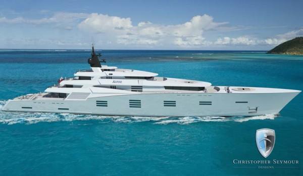 Alpine Luxury Yacht by Christopher Seymour Design