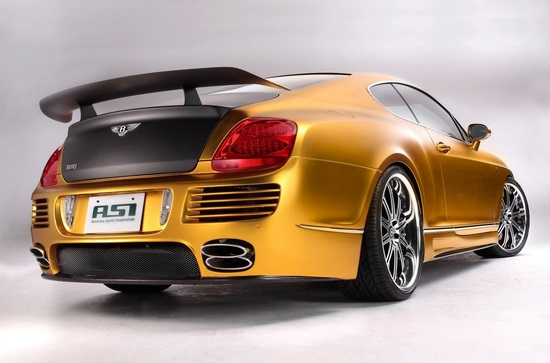 Bentley W66 GTS Gold by ASI 1