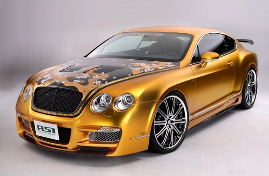 Bentley W66 GTS Gold by ASI 2