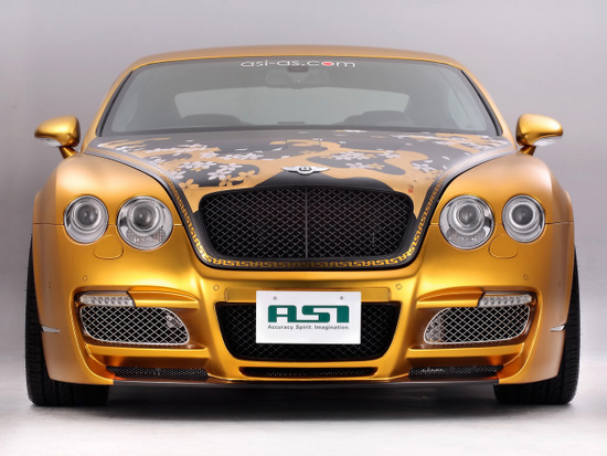 Bentley W66 GTS Gold by ASI