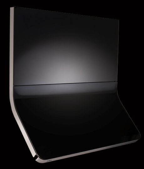 CDA 3C9 Curved Black Glass Hood