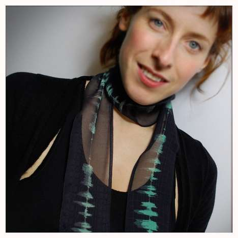 Digitally Printed Neck Silks