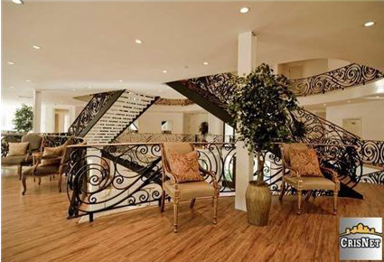 House of the Day Three Story Foyer Mansion 11