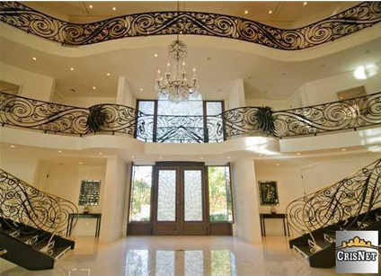 House of the Day Three Story Foyer Mansion 2