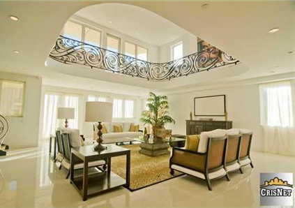 House of the Day Three Story Foyer Mansion 3