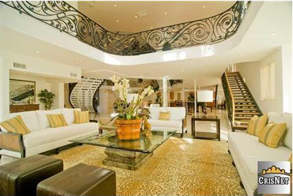 House of the Day Three Story Foyer Mansion 4