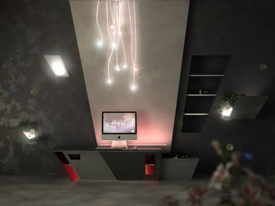 Inspiring Futuristic Interior Design 1