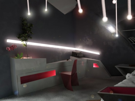 Inspiring Futuristic Interior Design 2