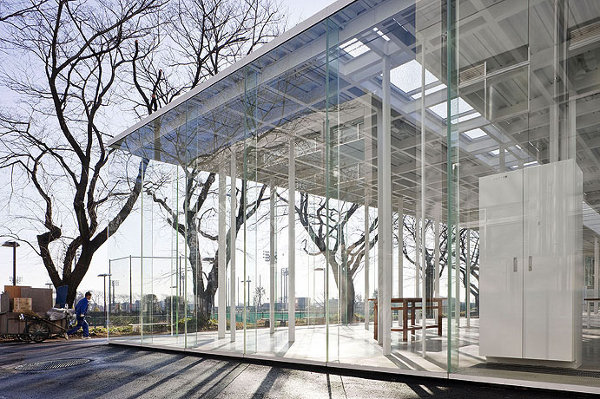 Kanagawa Institute of Technology: the Glass Building
