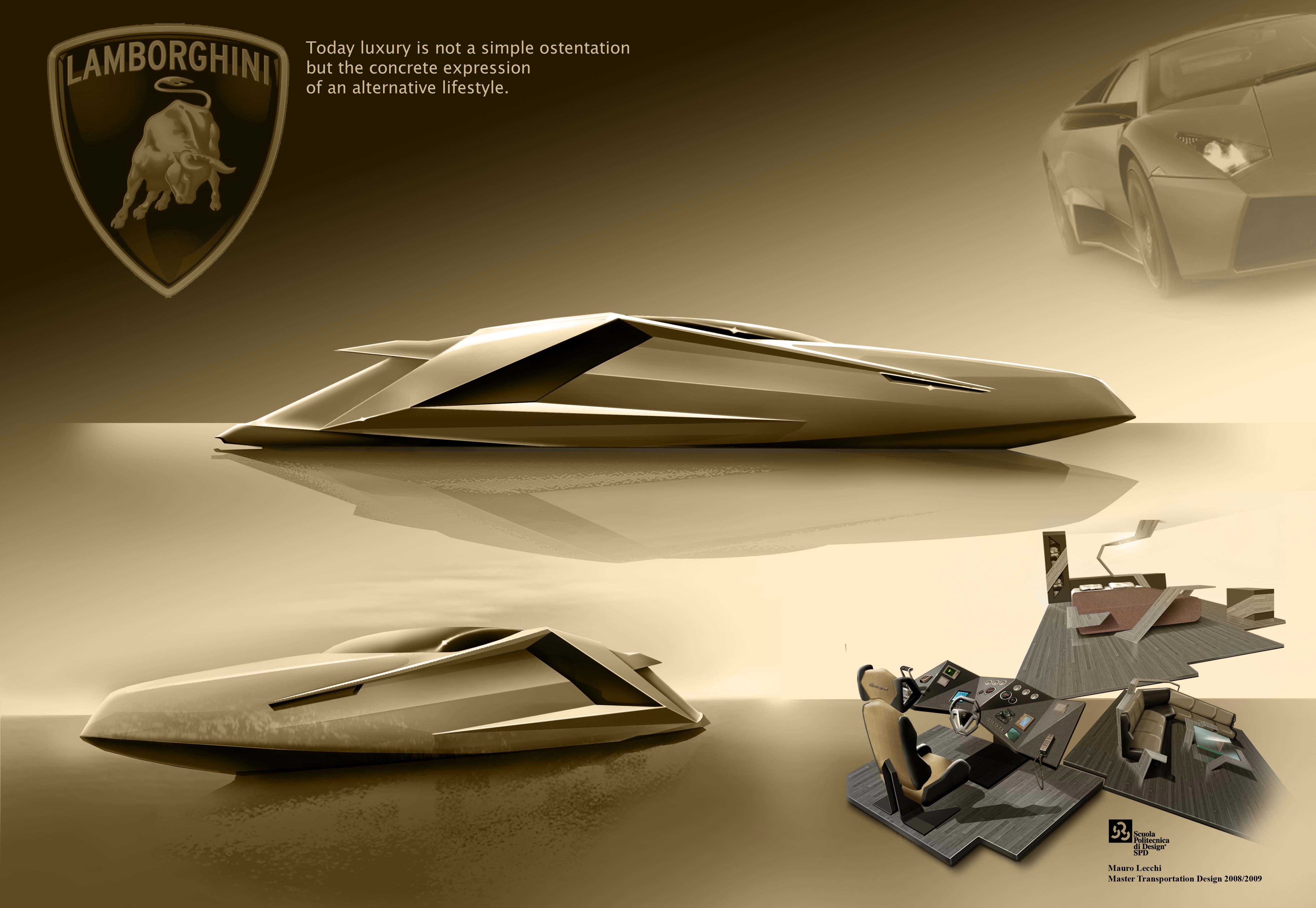 Lamborghini Yacht Concept by Mauro Lecchi 7