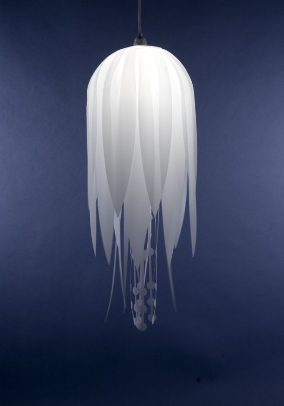 Lovely Jellyfish-Like Pendant Lamps 3