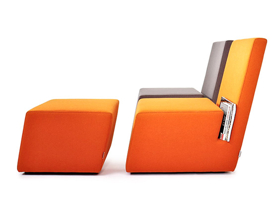 The Book Lounge Chair