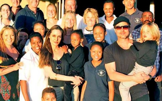 $2 Million Donation from Angelina Jolie and Brad Pitt