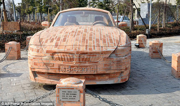 A Brick and Cement BMW that Actually Works 1