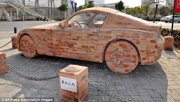 A Brick and Cement BMW that Actually Works 2