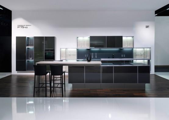 Carbon Fiber Kitchen by Porsche Design